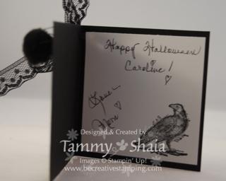 Halloween gift card-inside