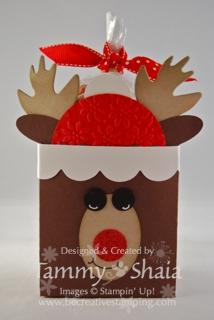 Fancy Favor Reindeer #1