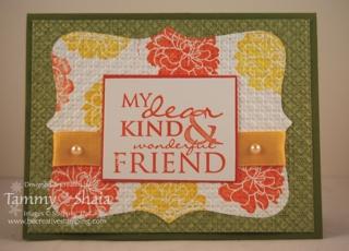 My Dear, Kind & Wonderful Friend