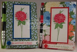 Beyond the Garden note pads