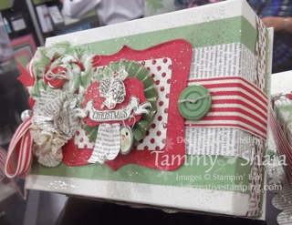 Christmas Keepsake Box #1