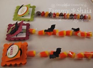 1 x 8 Halloween treats