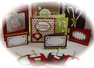Christmas Lane Cards