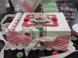 Christmas Keepsake Box #2