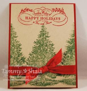 Christmas Lodge card