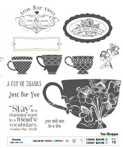 Tea Shoppe Stamp Set