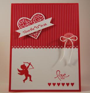 Valentine stamp camp card #1
