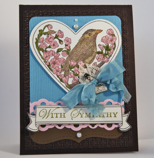 Take it to Heart sympathy card