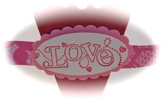 Petal cone Valentine close-up #1