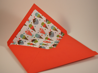 Mouthwatering envelope