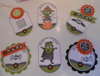 Ghoulish tags