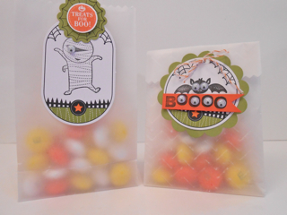 Ghoulish  bags