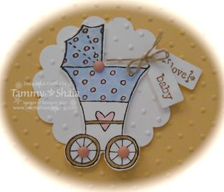 Baby Bundle stamp set close up
