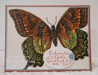 Swallowtail Stamp Set #2