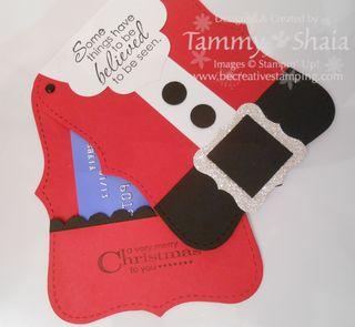 Santa Gift Card Holder #3