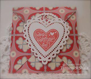 More Amore designer paper envelope