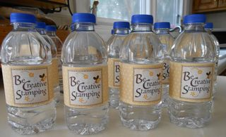 Be Creative Water Bottles