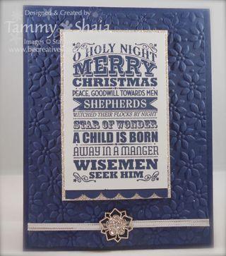 O Holy Night Stamp Set