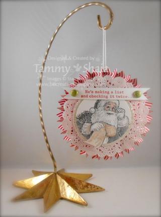 Santa's List Ornament