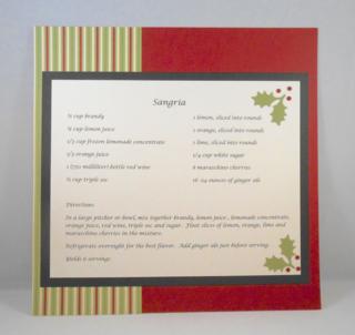 Recipe Card C