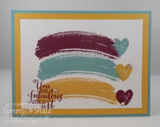 Work of Art Stamp Set
