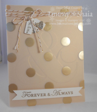 Anniversary Card Fancy Foil Vellum Card #2