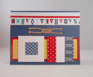 Nautical Card-Maritime Designer Paper