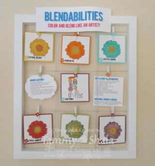 Blendabilities Markers Display