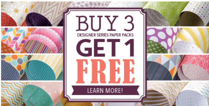 Designer Paper Promo