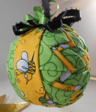 Bee ornament #2