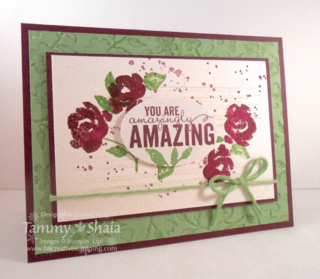Painted Petals Card 2