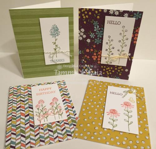 Flowering Fields Card 3