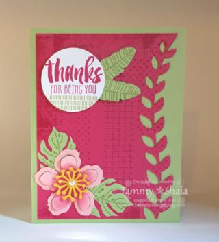 Botanical Blooms Stamp Set 2