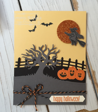 Spooky Fun and Halloween Scences Card