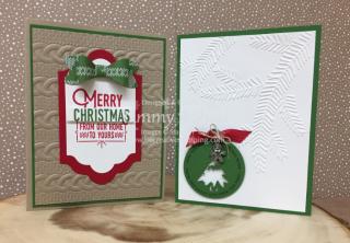 Warmth & Cheer Stamp Set & Merriest Wishes Stamp Set