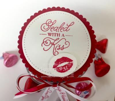Sealed with Love Stamp Set Jar Lid