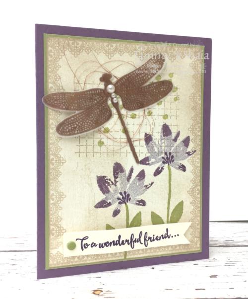 Dragonfly Dreams Stamp Set (hostess club)