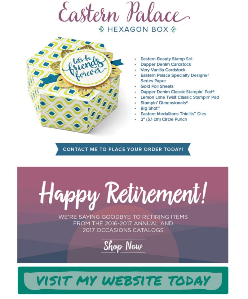Eastern Palace Hexagon Box