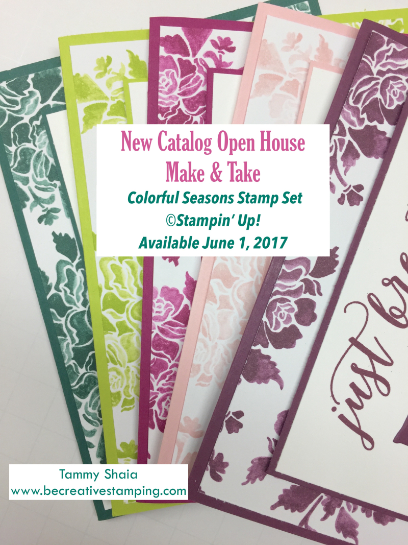 Colorful Seasons Stamp Set