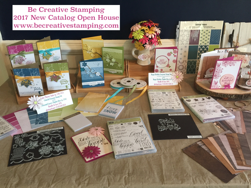 Stampin' Up! New Catalog Open House 10
