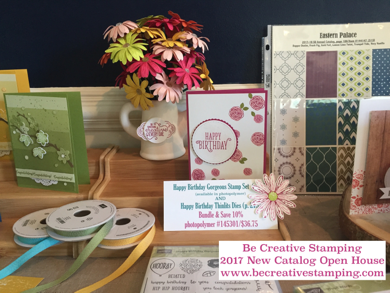 Stampin' Up! New Catalog Open House 12