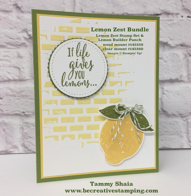 Lemon Zest Bundle 5