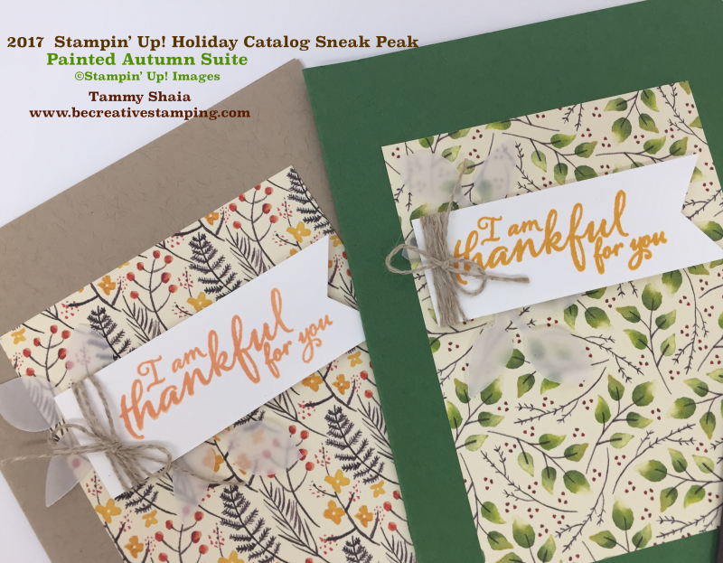 Painted Autumn Suite by Stampin' Up! 3