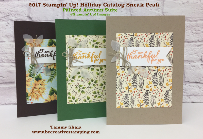 Painted Autumn Suite by Stampin' Up!