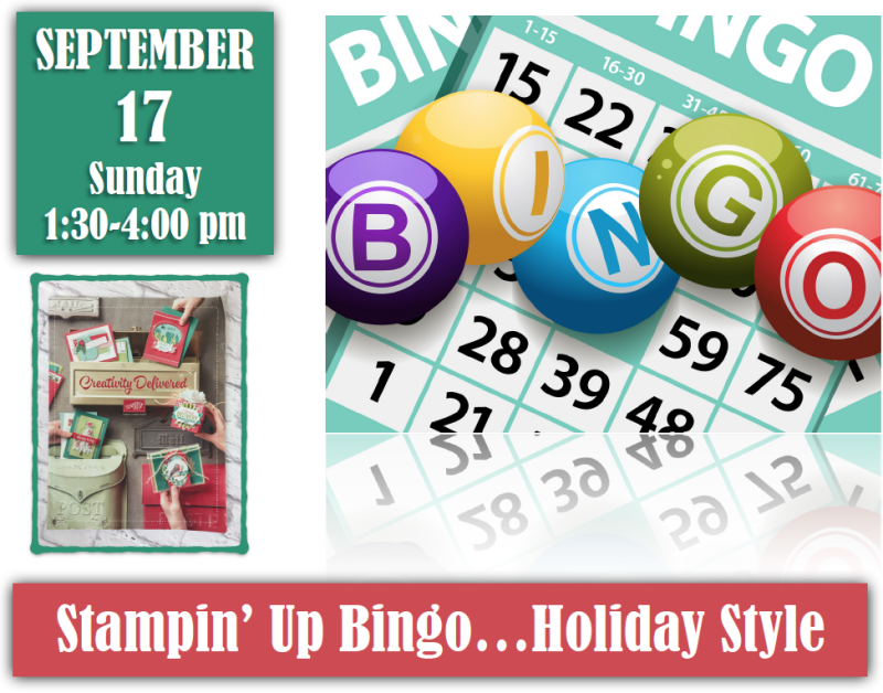 Stampin' Up! Bingo