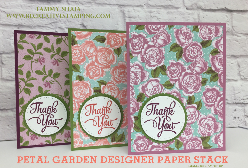 Petal Garden Designer Paper Stack 2 copy