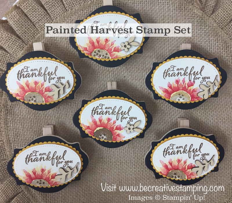 Painted Harvest Stamp Set 1