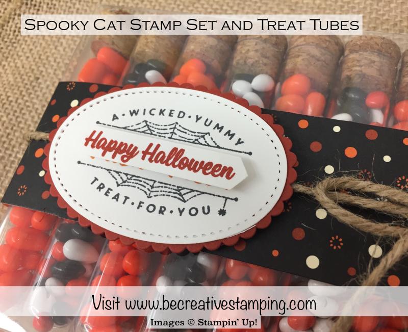 Spooky Cat Stamp Set Treat Tubes