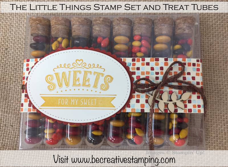 The Little Things Stamp Set Treat Tubes 1