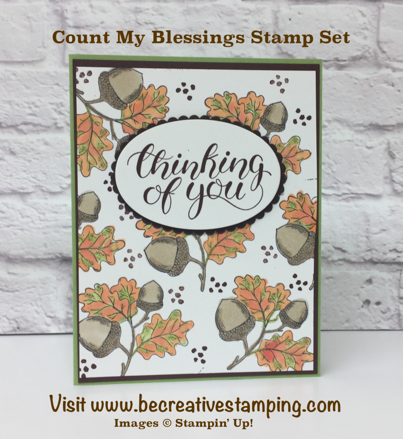Count My Blessings Stamp Set